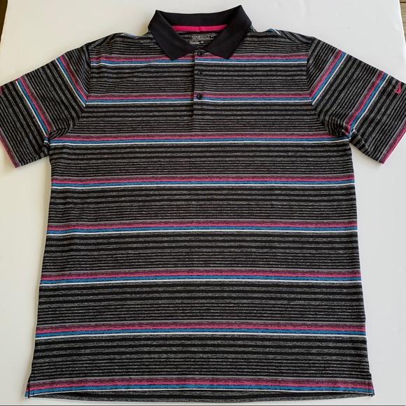 073a22b8 Nike Shirts | Golf Tour Performance Drifit Striped Polo Xl | Poshmark